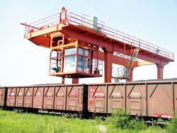 Saimo Auger Sampling System for Train